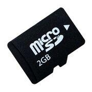 Карта памяти MicroSD 2 Gb 6 кл. Smart Buy без ад