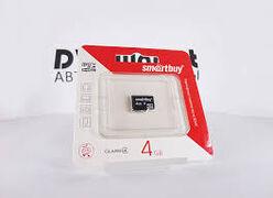 Карта памяти MicroSD 4 Gb 4 кл. Apacer без ад.