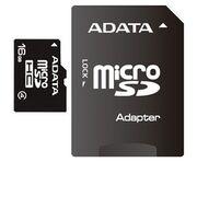 Карта памяти MicroSD 16 Gb 4 кл. A-Data c ад.