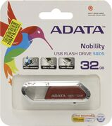 Флешка 32 Gb A-Data S805 Sporty красный