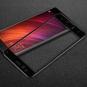 3D Защитное стекло для телефона Xiaomi Mi 6 (чёрный обод)